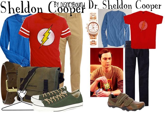 sheldon cooper look