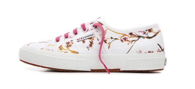 sneaker donna fiori estate 2015