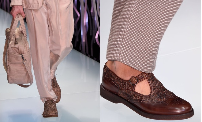 Giorgio Armani Uomo  scarpe e vestiti primavera estate 2016 - Scarpe ... 8963aa03598