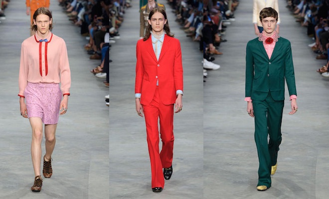Gucci uomo primavera estate 2016
