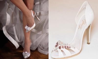 Pernrose scarpe sposa