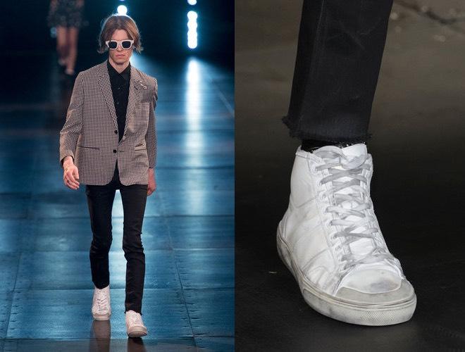 Saint Laurent uomo scarpe vestiti 2016