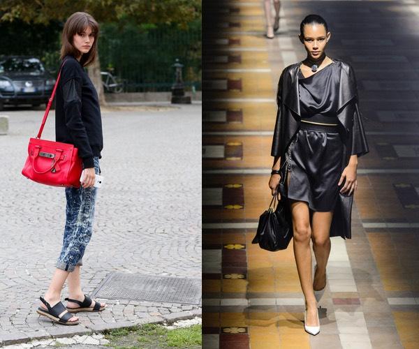 Abbinare scarpe e borsa: c'è una regola? no.   scarpe alte ...