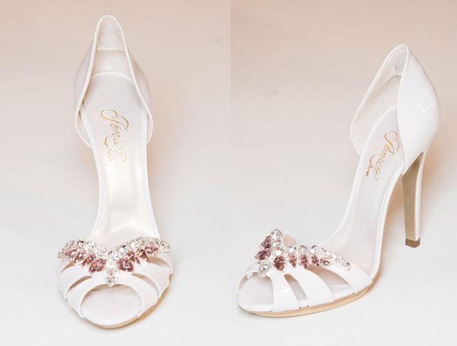 rivenditore online migliore selezione di cerca il meglio Penrose scarpe sposa 2015, bianche e gioiello - Scarpe Alte ...