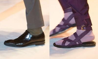 Scarpe e sandali Versace estate 2016
