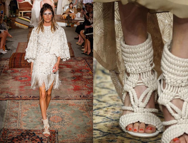 abito e sandali da sposa 2016 houghton