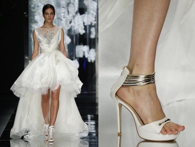 Scarpe Per Abito Da Sposa.10 Scarpe Sposa Originali Aperte E Chiuse Scarpe Alte Scarpe