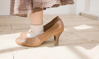 scarpe con il tacco bambina