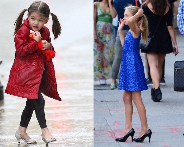 Scarpe Con Tacco Da Bambina
