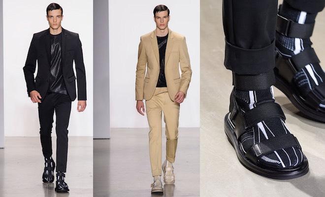 2eca8844ab5e Calvin Klein Collection  scarpe e vestiti estate 2016 - Scarpe Alte ...
