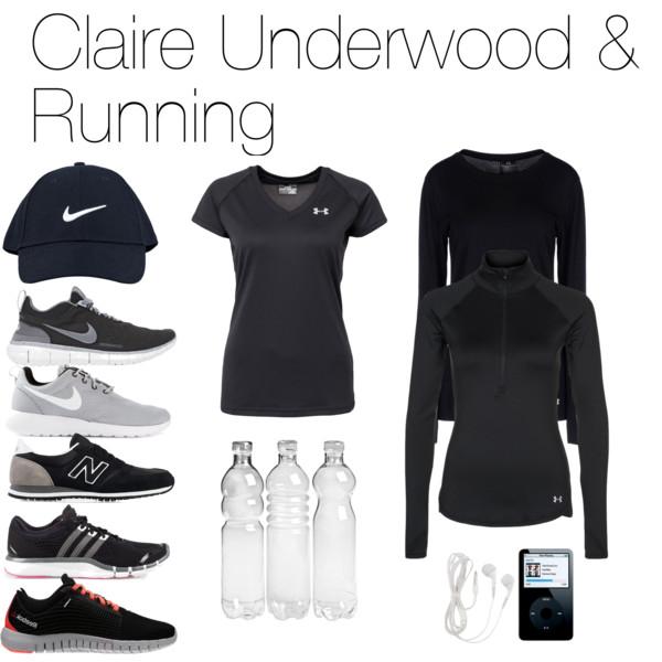 claire underwood scarpe da corsa
