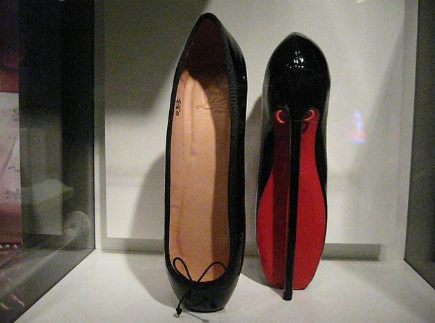 fetish ballet heels