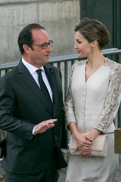 Hollande Letizia di Spagna