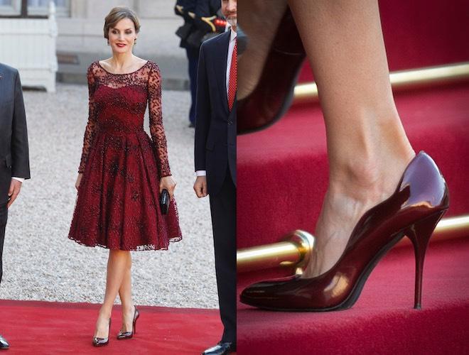 letizia di spagna scarpe vestiti 2015