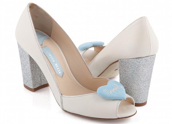 scarpe sposa originali Charlotte Mills