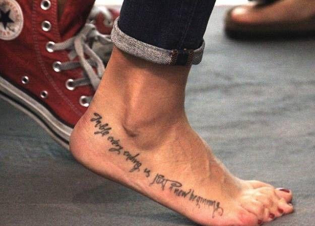 tatoo melissa satta