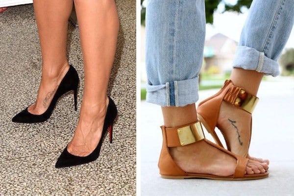 tatuaggi piede