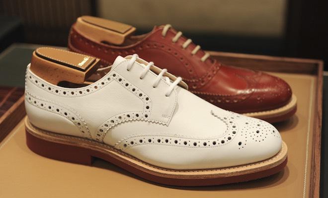 scarpe in pelle uomo