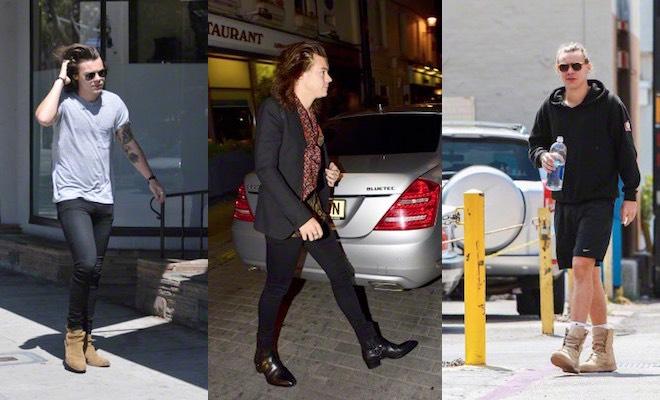 Harry Styles scarpe