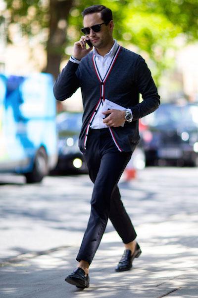 Londra street style moda uomo