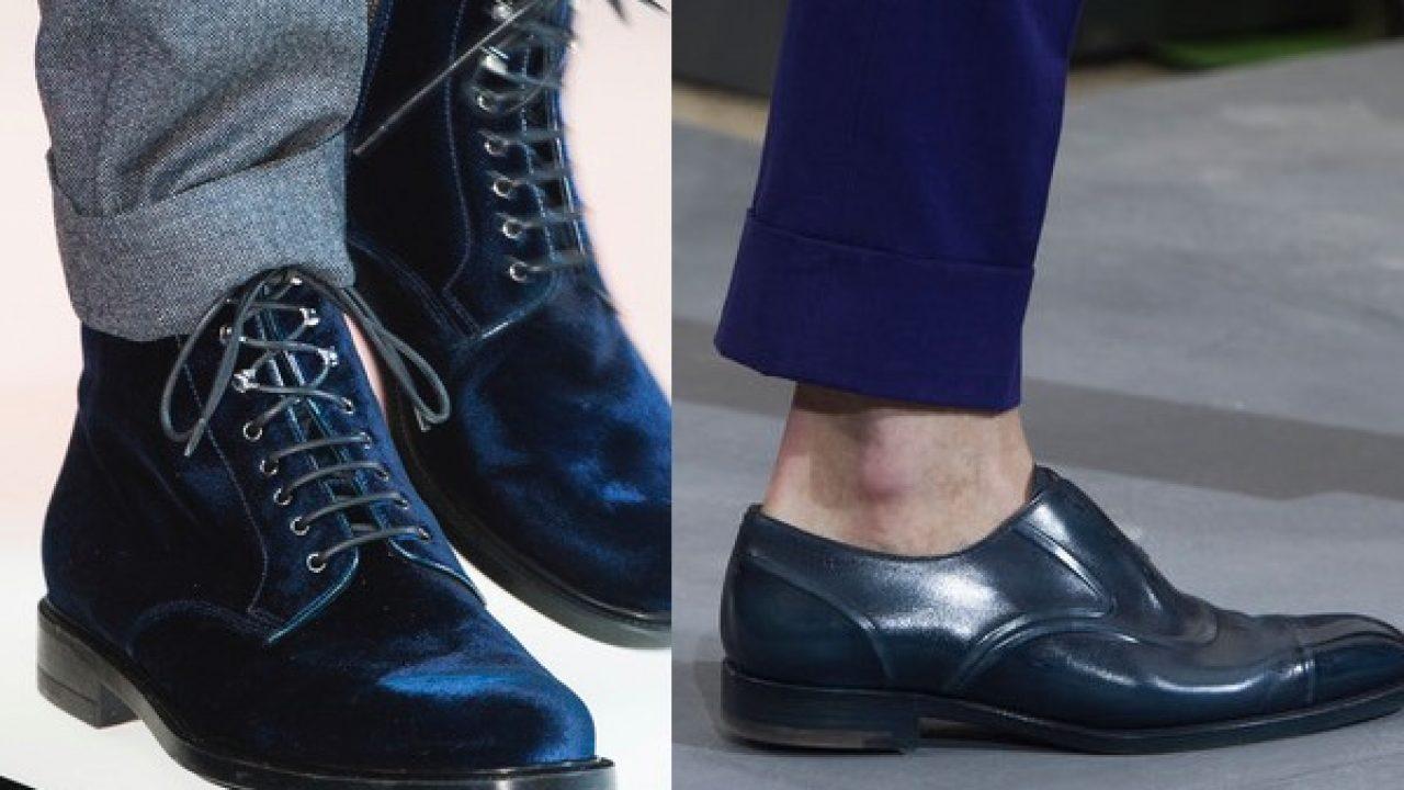 abbinamenti con scarpe blu uomo