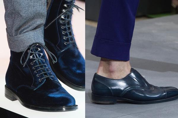 2020 eccezionale gamma di stili moda firmata Uomo 7 modi per abbinare le scarpe blu - Scarpe Alte ...