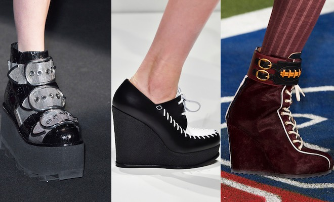 Zeppe moda autunno inverno 2015-2016