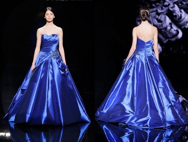 Pignatelli abito da sposa 2016 blu