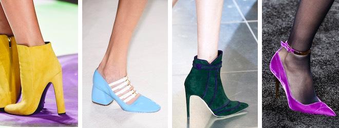 colori scarpe donna inverno 2015