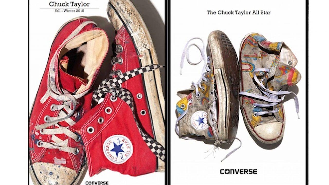 Converse: catalogo scarpe autunno inverno 2015 2016 Scarpe