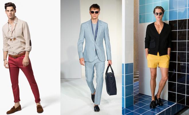 Matrimonio Uomo Estate : Moda uomo mocassini in estate gli abbinamenti scarpe