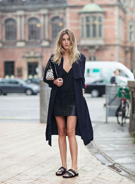 sandali Birkenstock outfit