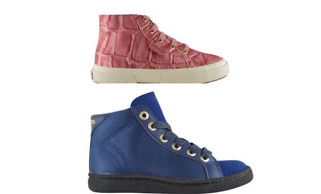 scarpe bambini Superga autunno inverno 2015-2016