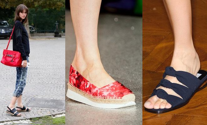 scarpe donna estate 2015 per viaggiare