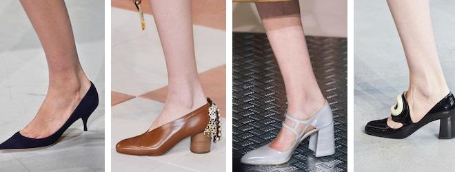 scarpe donna tacco medio autunno inverno 2015