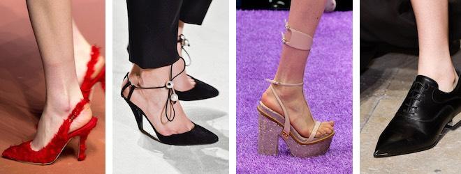 scarpe e sandali donna autunno inverno 2015