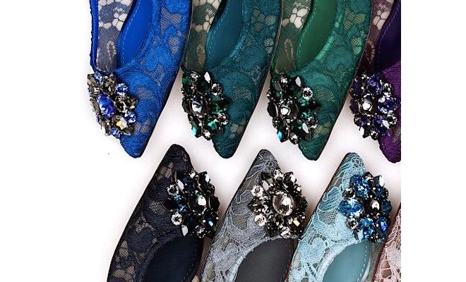 Le scarpe gioiello di Dolce Gabbana 6b8b1895e07