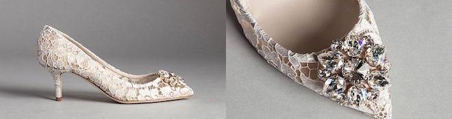 scarpe donna gioiello pizzo