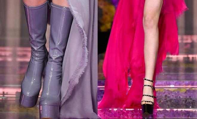 scarpe versace donna autunno inverno 2015