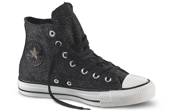 all star converse nere donna basse