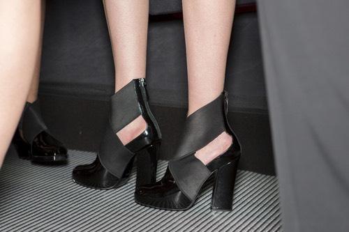 Emporio Armani  scarpe nere donna inverno 2015