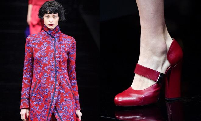 Emporio Armani scarpe vestito nverno 2015