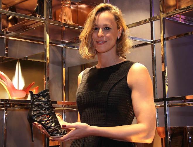 Federica Pellegrini scarpe Le Silla