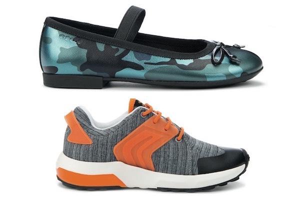 Geox scarpe bambini autunno inverno 2015