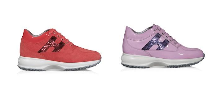 scarpe hogan donna rosse