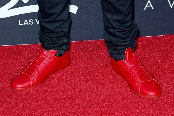 Rapper Kid Ink scarpe
