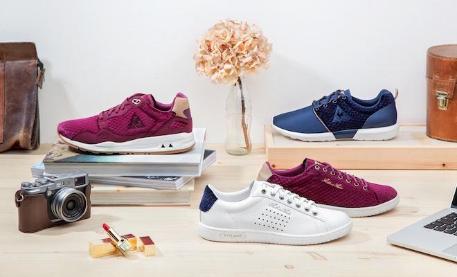 Le Coq Sportif: le nuove scarpe donna in velluto Scarpe