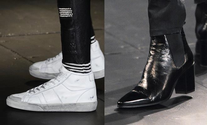 Saint Laurent uomo scarpe