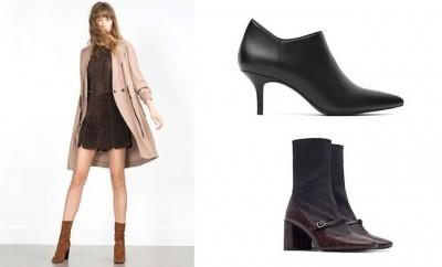 Scarpe donna Zara inverno 2015-2016