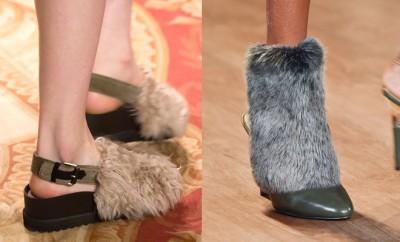 scarpe stivali pelliccia